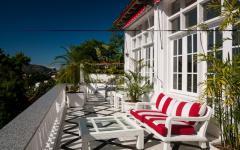 terrasse balcon aménagée villa de luxe à louer villa de rêve rio de janeiro