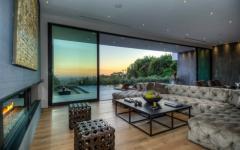 baies coulissantes murs mobiles villa de luxe