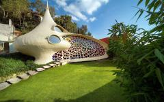 maison originale bio architecture nautilus coquillage