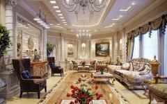 villa de luxe design intérieur oriental