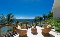 balcon luxe villa de vacances exotique