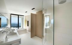 salle de bain design contemporaine villa côte d'azur