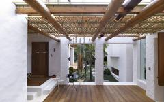 bois style exotique intérieur design