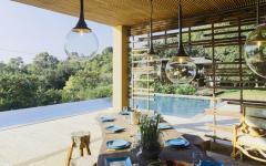 piscine extérieure villa à louer location de luxe familiale