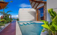 Entrée maison de vacances design original