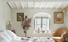 chambre décoration rustique