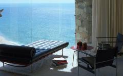 magnifique vue sur la mer villa de luxe