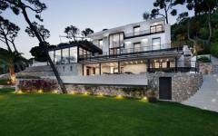 Villa prestige villefranche sud de la france