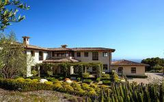villa de luxe vue d'extérieur