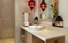 Salle de bains simple décor épuré