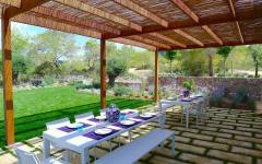 maison avec vue terrasse repas