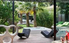 terrasse en bois exotique luxe