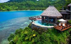 ville de luxe vacances exotiques Laucala