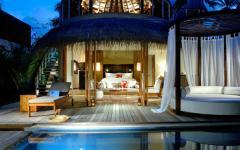 villa de luxe aux Maldives vacances