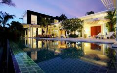 magnifique villa de vacances exotiques romantique
