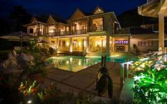 luxueuse villa location de vacances