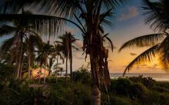 paysage exotique mexique plage villa écologique de retraite