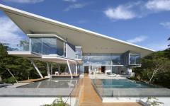 résidence d'architecte exotique