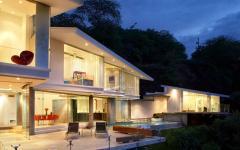 villa de luxe vacances mer océan architecture