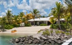 plage privée villa exotique de rêve luxe location de vacances antigua
