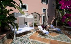 patio extérieur villa à louer luxe
