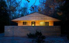 maison en bois écologique verte ontario