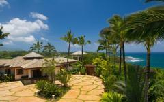 vue générale ville de luxe extrême hawaii