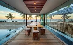 vue panoramique sur la plage phuket