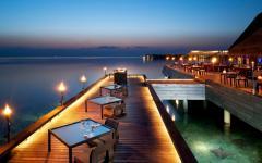 ambiance romantique exotique vacances maldives