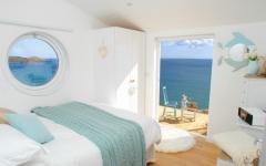 chambre vue sur l'océan villa à louer