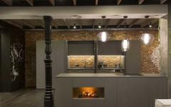 cuisine ouverte aménagé déco minimaliste