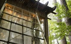 manuel méchanisme fenêtre cabane en bois