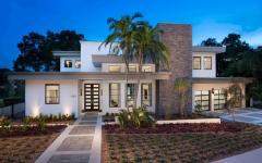 belle résidence contemporaine en Floride