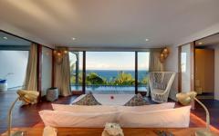 vue splendide sur océan villa à louer