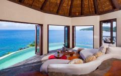 vue panoramique villa laucala