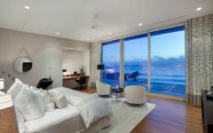 vue mer villa luxe chambre