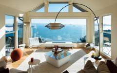 Jolie maison avec vue sur l'océan
