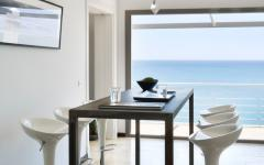 Salle à manger villa de luxe