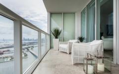 balcon luxe appartement mer