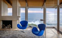 vue sur la mer panoramique séjour maison secondaire