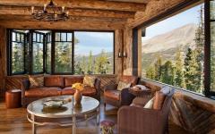 superbe vue panoramique sur la montagne résidence