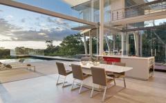 séjour contemporaine moderne résidence secondaire