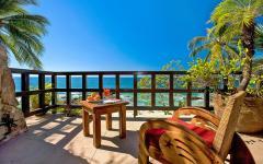 Vue panoramique sur l'océan villa à louer