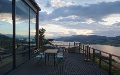 résidence avec vue sur le lac