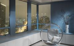 mobilier design rétro intérieur maison