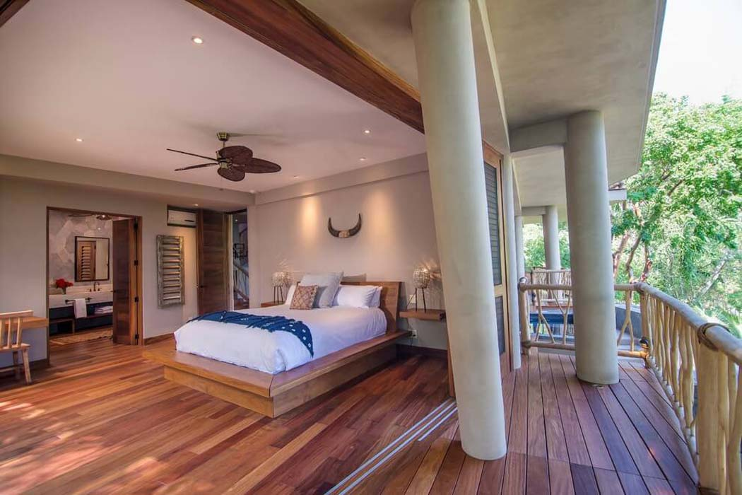 Chambre à Coucher En Bois Exotique : Originale maison location de vacances au mexique avec une