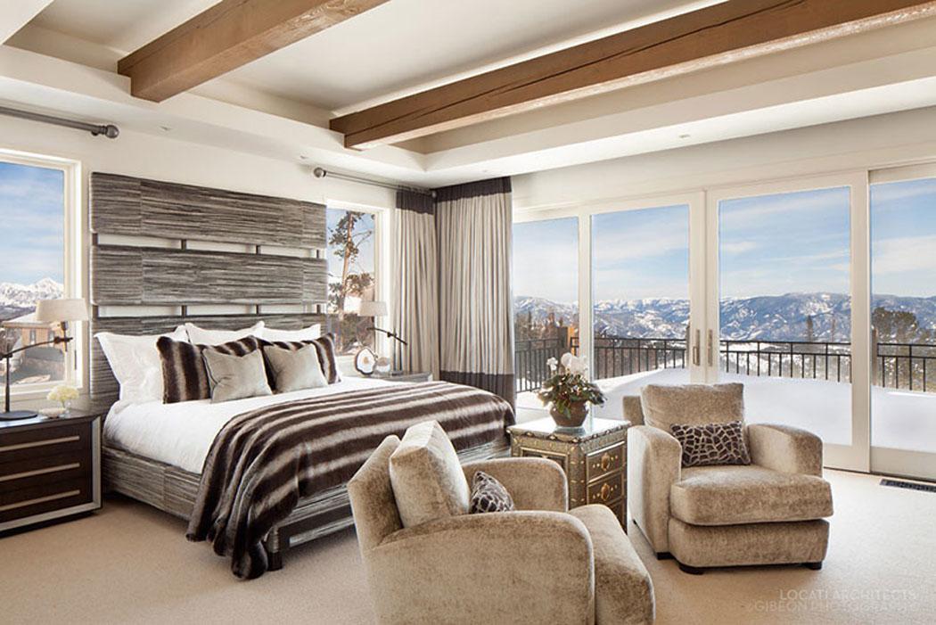 Chambre montagne luxe id es de d coration et de mobilier pour la conception de la maison for Chambre style chalet montagne