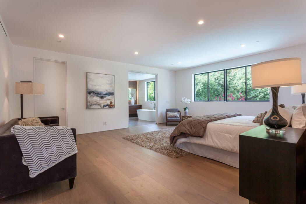 Belle maison neuve los angeles caract ris e par une - Creer style minimaliste maison familiale ...