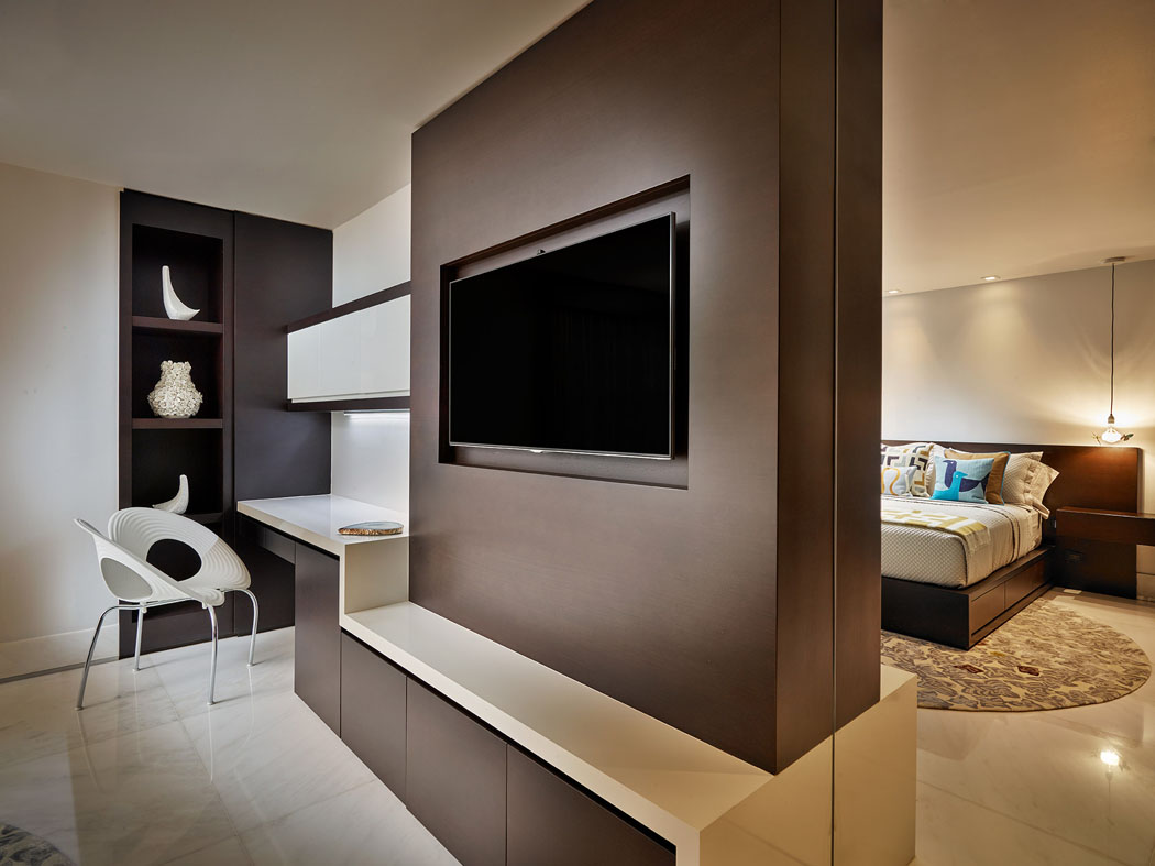 Les chambres des filles de la famille se composent également dune partie salon intérieur moderne chambre luxe