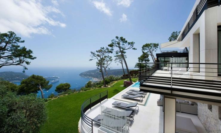 Magnifique villa de luxe sur la c te d azur vivons maison for Villas francesas